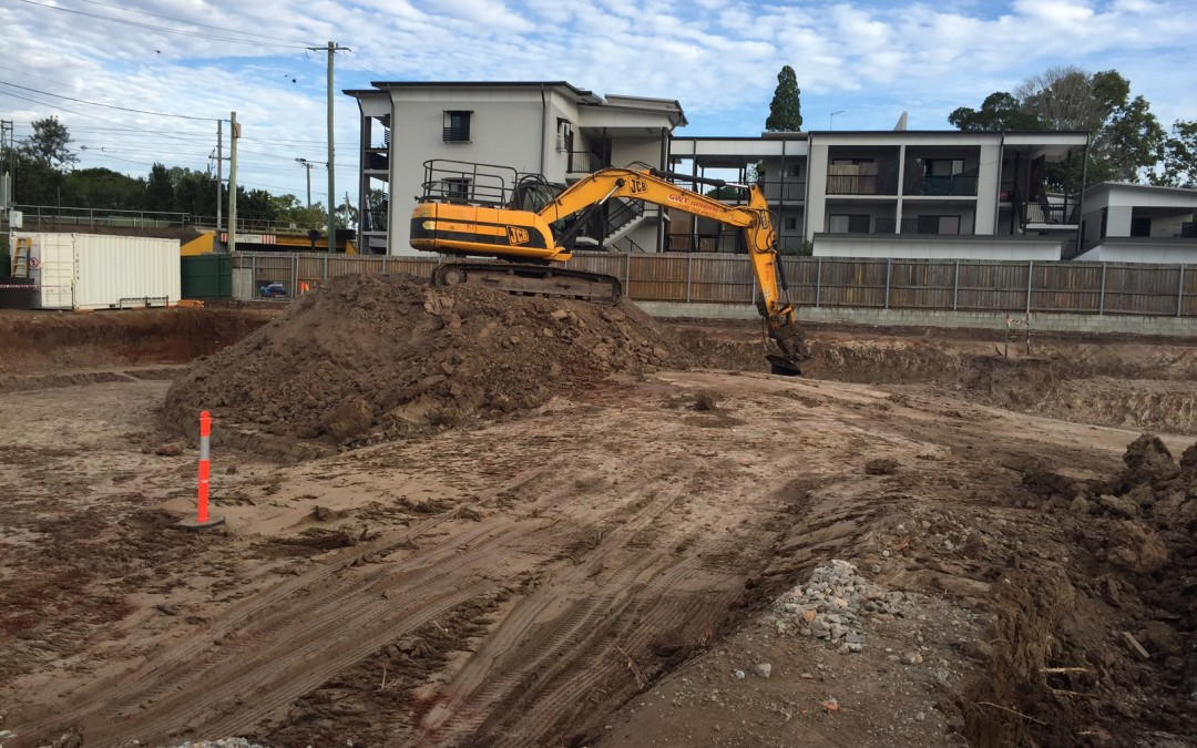 Construction begins in earnest at Sherwood Residences