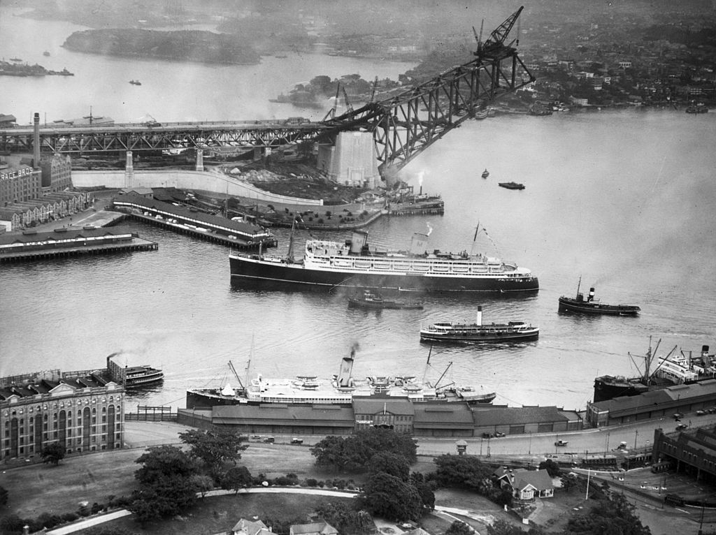 Sydney, circa 1930. Photo: Hulton Archive/Getty Images.